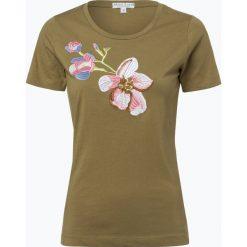 Marie Lund - T-shirt damski, zielony. Zielone t-shirty damskie Marie Lund, l, z haftami. Za 69,95 zł.