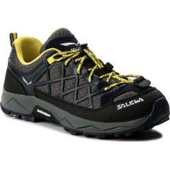 Buty trekkingowe chłopięce: Trekkingi SALEWA – Wildfire 64007-3987 Premium Navy/Yellow