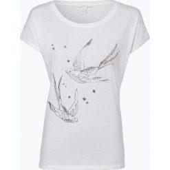 Esprit Casual - T-shirt damski, beżowy. Brązowe t-shirty damskie Esprit Casual, s. Za 69,95 zł.