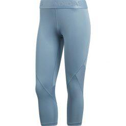Legginsy sportowe damskie: legginsy sportowe damskie 3/4 ADIDAS ALPHASKIN SPORT TIGHT / CE3968 – 3/4 ADIDAS ALPHASKIN