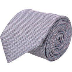 Krawaty męskie: krawat platinum niebieski classic 220