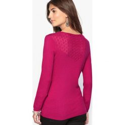 Kardigany damskie: Sweter fantazyjny, 10% wełny