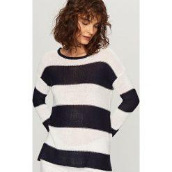 Swetry klasyczne damskie: Sweter – Wielobarwn