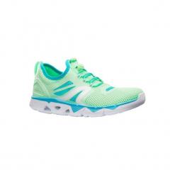 Buty damskie do szybkiego marszu PW 500 Fresh w kolorze zielonym. Brązowe buty do fitnessu damskie marki NEWFEEL, z gumy. Za 129,99 zł.