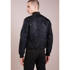 Rag & bone MANSTON JACKET Kurtka Bomber black. Czarne kurtki męskie bomber rag & bone, m, z bawełny. W wyprzedaży za 771,60 zł.
