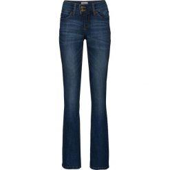 """Dżinsy """"authentic-stretch"""" BOOTCUT bonprix ciemnoniebieski. Niebieskie jeansy damskie bootcut marki bonprix. Za 109,99 zł."""