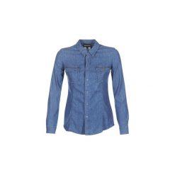 Koszule Emporio Armani  MORA. Szare koszule nocne i halki marki Emporio Armani, l, z nadrukiem, z bawełny, z okrągłym kołnierzem. Za 559,20 zł.