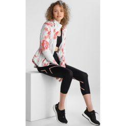 2XU BONDED MID RISE COMPRESSION 7/8  Legginsy black/chalk pink. Czarne legginsy 2XU, m, z elastanu. W wyprzedaży za 356,85 zł.