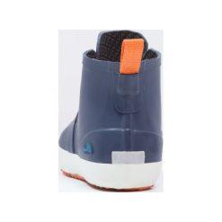 Viking LILLESAND  Kalosze navy/orange. Niebieskie buty zimowe damskie Viking, z materiału. Za 209,00 zł.