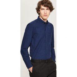 Koszula regular fit - Granatowy. Niebieskie koszule męskie marki QUECHUA, m, z elastanu. Za 89,99 zł.