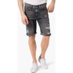 Calvin Klein Jeans - Spodenki męskie, czarny. Czarne spodenki jeansowe męskie marki Calvin Klein Jeans. Za 349,95 zł.