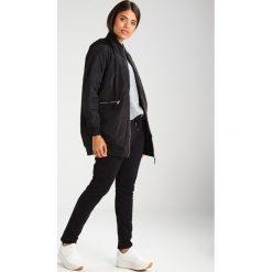 Płaszcze damskie pastelowe: Noisy May NMSPACE LONG  Krótki płaszcz black