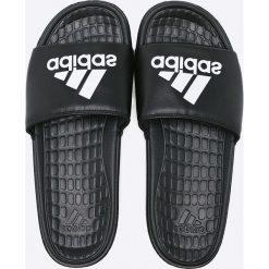 Adidas Performance - Klapki. Czarne klapki męskie marki adidas Performance, z materiału. Za 99,90 zł.