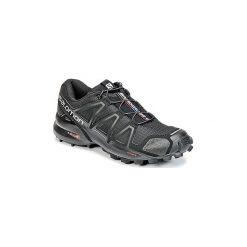 Buty do biegania Salomon  SPEEDCROSS 4 W. Czarne buty do biegania damskie marki Salomon, z gore-texu, na sznurówki, gore-tex. Za 518,88 zł.