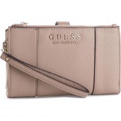 Duży Portfel Damski GUESS - SWVE71 76570 TAUPE. Brązowe portfele damskie Guess, z aplikacjami, ze skóry ekologicznej. Za 279,00 zł.