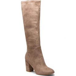 Kozaki ALDO - Praevia 57070210 37. Brązowe buty zimowe damskie ALDO, z materiału. W wyprzedaży za 379,00 zł.