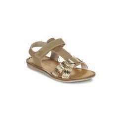 Sandały Dziecko  Citrouille et Compagnie  GIFOU. Brązowe sandały dziewczęce Citrouille et Compagnie. Za 143,20 zł.