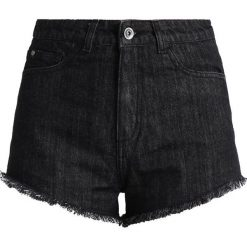 Bermudy damskie: Urban Classics LADIES HOTPANTS Szorty jeansowe black washed