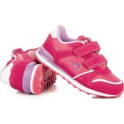 Dziewczęce buciki na rzep STEPHANIE. Czerwone buty sportowe dziewczęce American CLUB. Za 79,00 zł.