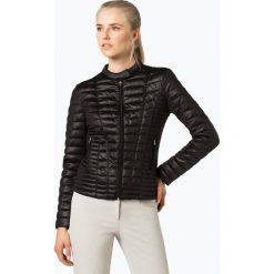 Guess Jeans - Damska kurtka pikowana – Babi, czarny. Szare kurtki damskie jeansowe marki Guess Jeans, na co dzień, l, z aplikacjami, casualowe, z okrągłym kołnierzem, mini, dopasowane. Za 659,95 zł.