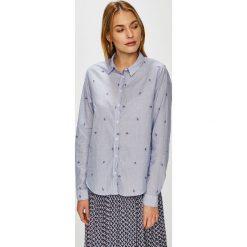 Pepe Jeans - Koszula. Szare koszule jeansowe damskie Pepe Jeans, l, klasyczne, z klasycznym kołnierzykiem, z długim rękawem. Za 299,90 zł.
