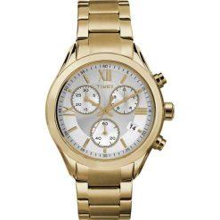 Zegarek Timex Damski  TW2P93700 Chronograf złoty. Żółte zegarki damskie Timex, złote. Za 424,99 zł.