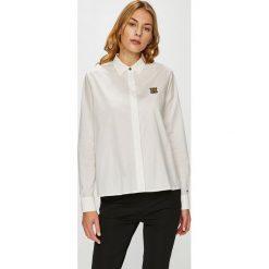 Tommy Hilfiger - Koszula. Szare koszule męskie na spinki marki Guess Jeans, l, z aplikacjami, z bawełny, z klasycznym kołnierzykiem, z długim rękawem. Za 299,90 zł.