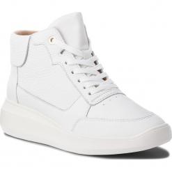 Sneakersy GEOX - D Rubidia B D84APB 00046 C1000 White. Białe sneakersy damskie Geox, z materiału. W wyprzedaży za 389,00 zł.