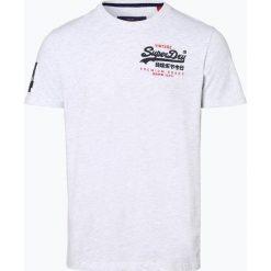 Superdry - T-shirt męski, niebieski. Niebieskie t-shirty męskie z nadrukiem Superdry, l. Za 149,95 zł.