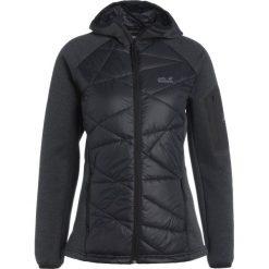 Jack Wolfskin SKYLAND CROSSING  Kurtka Outdoor black. Czarne kurtki sportowe damskie marki Jack Wolfskin, xxl, z materiału. W wyprzedaży za 362,45 zł.