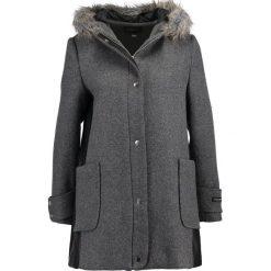 Płaszcze damskie pastelowe: Cortefiel WOOL DUFFLE COAT WITH HOOD Płaszcz wełniany /Płaszcz klasyczny grey