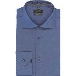 Koszula bexley 2572 długi rękaw ssf granatowy. Niebieskie koszule męskie Recman, m, z długim rękawem. Za 149,00 zł.