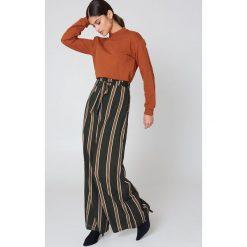 NA-KD Basic Bluza basic - Orange,Copper. Różowe bluzy damskie marki NA-KD Basic, prążkowane. Za 80,95 zł.