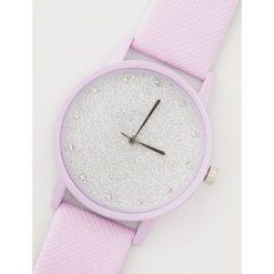 Zegarek z błyszczącą tarczą - Fioletowy. Fioletowe zegarki damskie House. Za 19,99 zł.