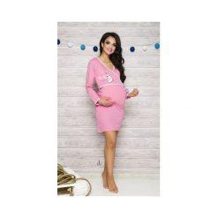Koszula damska 113 Asia 001 różowa r. S. Czerwone bluzki ciążowe Taro, s, moda ciążowa. Za 62,50 zł.