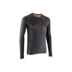 T-shirty męskie: Koszulka wspinaczkowa szara