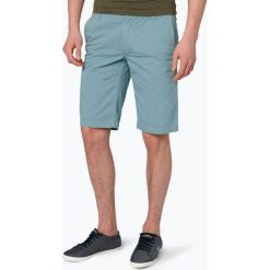Bermudy męskie: BOSS Casual - Spodenki męskie – Schino-Shorts, niebieski