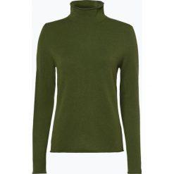 Marie Lund - Sweter damski z czystego kaszmiru, zielony. Zielone swetry klasyczne damskie Marie Lund, l, z dzianiny. Za 499,95 zł.