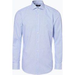 BOSS - Koszula męska – Jason, niebieski. Czarne koszule męskie w paski marki Boss, m. Za 399,95 zł.
