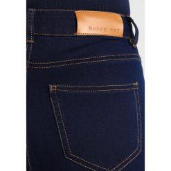 Rurki damskie: Noisy May NMLUCY Jeans Skinny Fit dark blue denim