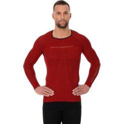 Koszulki sportowe męskie: Brubeck Koszulka męska 3D Run PRO z długim rękawem czerwona r. XXL (LS13000)