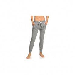 Spodnie treningowe Roxy  Hello The World Bottom B - Pantal?n de ch?ndal para Mujer. Białe bryczesy damskie marki Roxy, l, z nadrukiem, z materiału. Za 228,66 zł.