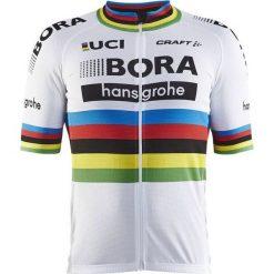 Craft Koszulka rowerowa męska Bora-hansgrohe Replica SS Jersey biała r. L (1906104 - 4900). Białe odzież rowerowa męska marki Craft, m. Za 184,50 zł.