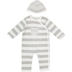 Komplet kombinezon + czapka - 0 miesięcy - 2 lata. Szare czapeczki niemowlęce marki La Redoute Collections, z bawełny. Za 82,28 zł.