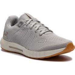 Buty UNDER ARMOUR - Ua W Micro G Pursuit 3000101-109 Gry. Szare buty do biegania damskie Under Armour, z materiału. W wyprzedaży za 219,00 zł.