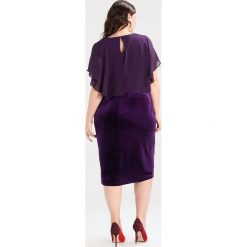 Sukienki hiszpanki: Zizzi DRESS 1/2 Sukienka koktajlowa purple