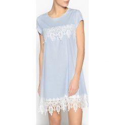 Bielizna damska: Koszula nocna z makramą