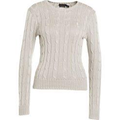 Polo Ralph Lauren JULIANNA Sweter stone grey. Szare swetry klasyczne damskie Polo Ralph Lauren, xl, z bawełny, polo. Za 589,00 zł.