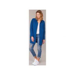 Płaszcze Benetton  JOPILO. Niebieskie płaszcze damskie marki Benetton. Za 351,20 zł.
