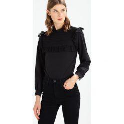 Bluzki asymetryczne: Navy London MARINA Bluzka black